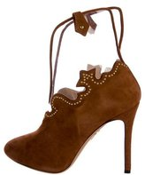 Charlotte Olympia Bronco Suede Booties
