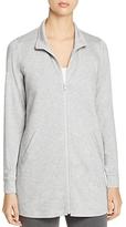 Eileen Fisher Heathered Zip-Front Jacket