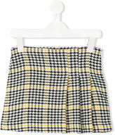 Il Gufo checked skirt