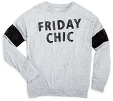 Flowers by Zoe Girls' Friday Chic Tee - Sizes S-XL