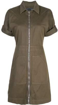 Veronica Beard zipped shirt dress