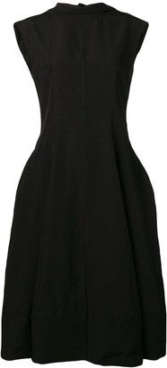 Jil Sander puff skirt dress