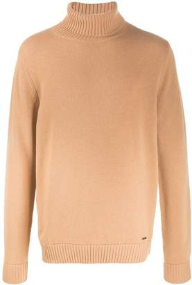 DSQUARED2 relaxed-fit turtleneck jumper