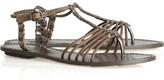 Elbamatt leather sandals