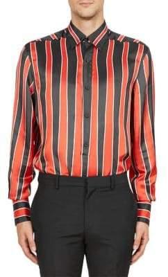 Givenchy Striped Silk Shirt