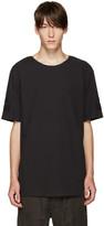Helmut Lang Black Oversized T-Shirt