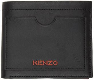 Kenzo Black Cut-Out Wallet