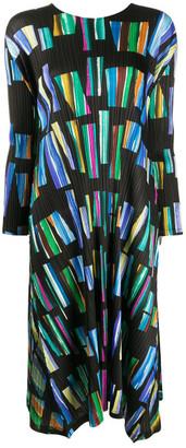 Pleats Please Issey Miyake Hopscotch Dress