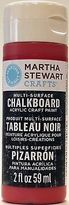 Martha Stewart Crafts Multi-surface Chalkboard Acrylic Craft Paint In Assorted