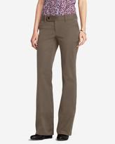 Eddie Bauer Women's Truly Straight StayShape® Twill Trousers