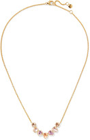 Larkspur & Hawk - Caterina Gold-dipped Quartz Necklace - one size
