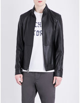 Michael Kors Racer Leather Jacket