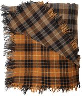 Faith Connexion Gradient Plaid Wool Scarf