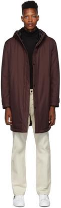 BOSS Burgundy Cucan Coat