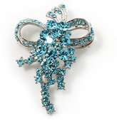 Avalaya Light Crystal Grapes Brooch