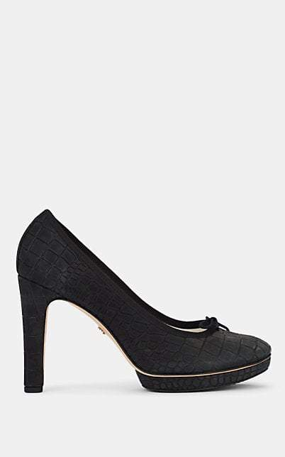 Repetto WOMEN'S TESS LEATHER BALLET PUMPS
