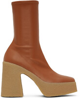 Thumbnail for your product : Stella McCartney Tan Skyla Boots