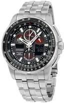 Citizen Skyhawk AT JY805051E Stainless Steel Quartz 47mm Mens Watch