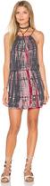 Michael Stars Naomi Wash Tie Dye Halter Tank Dress