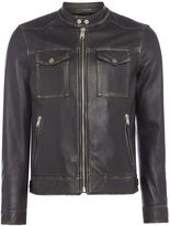 Replay Biker Jacket With Pockets