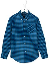 Ralph Lauren gingham button down shirt - kids - Cotton - 2 yrs