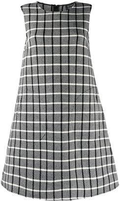 Gianluca Capannolo check print dress