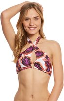 MinkPink Seventies Splash Halter Bikini Top 8156884