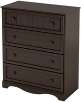 Green Baby South Shore Savannah Collection 4-Drawer Chest - Espresso