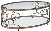 Signature Design by Ashley Fraloni Oval Coffee Table