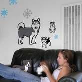 Blik Siberian Family Wall Stickers