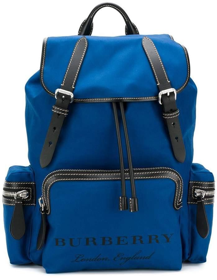 fcda06c66a05 Burberry Blue Men s Backpacks - ShopStyle