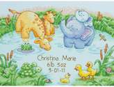 Dimensions Counted Cross Stitch Kit - Baby Hugs Baby's Friends Birth Record
