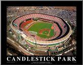 Art.com Candlestick Park San Francisco California Wall Art