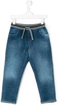 Dolce & Gabbana denim track jeans - kids - Cotton/Spandex/Elastane - 2 yrs