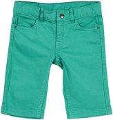 Petit Bateau 'Force' Shorts (Kids) - Green-8 Years