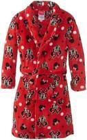 Disney Minnie Mouse Girl's 2-6X Bathrobe