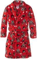 Disney Minnie Mouse Girl's 7-16 Bathrobe