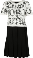 Moschino Letter Print Dress