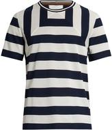 Paul Smith Striped cotton-piqué T-shirt