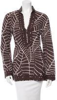 Tory Burch Long Sleeve Printed Tunic