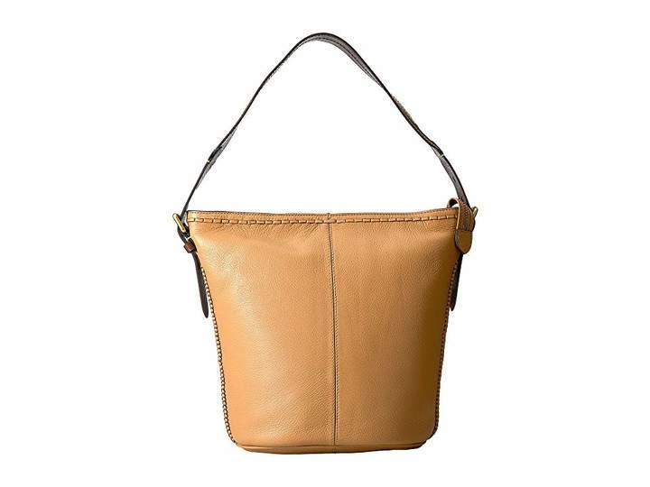 Cole Haan Loralie Whipstitch Bucket Hobo Hobo Handbags