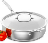 Cuisinart Chef's Classic Stainless Steel Covered 5.5 Qt. Saute Pan