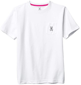 Psycho Bunny Kids Edmonton Pocket Tee (Toddler/Little Kids/Big Kids) (White) Boy's Clothing