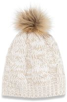 Women's SONOMA Goods for LifeTM Cable-Knit Pom Pom Hat