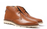 Penguin Ince Tan Brown Leather Desert Boots
