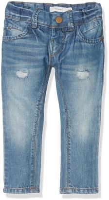 Name It Girl's NITTELSE REG/XXSL DNM PANT NMT NOOS Jeans Blue (Medium Blue Denim) 152