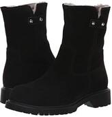 La Canadienne Hunter (Black Suede/Shearling Lined) Women's Boots