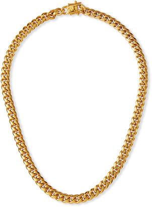 Fallon Ruth Curb Chain Necklace, 8mm
