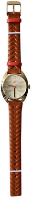 Orla Kiely Brown Steel Watches