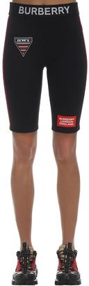 Burberry Jersey Shorts W/Logo Waistband